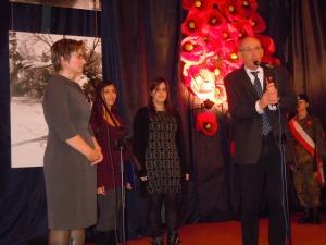 Il Dirigente Scolastico porta il saluto dell'Istituto e della città di Imola