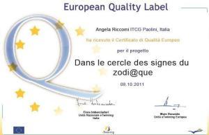label europeo 2011